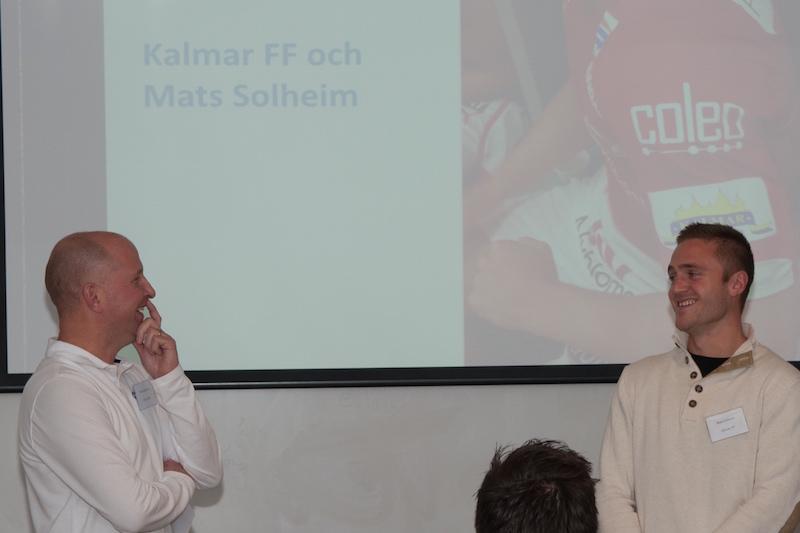 Under 2014 har vi genom vårt bolag Coleo sponsrat Kalmar FF och Mats Solheim. Här intervjuas Mats om säsongen av Pelle på Otimo.
