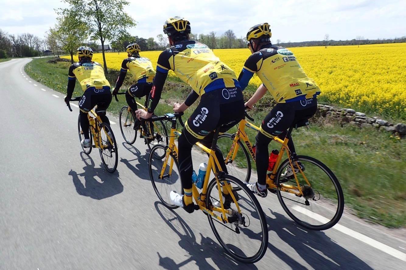 Stolt guldsponsorer till Team Rynkeby Kalmar